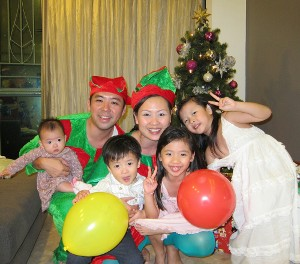 Jeannie Koh & family