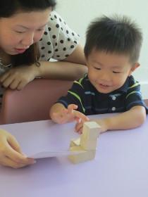 children learning math