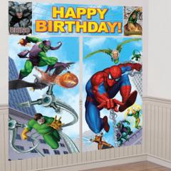 spiderman party scene setter