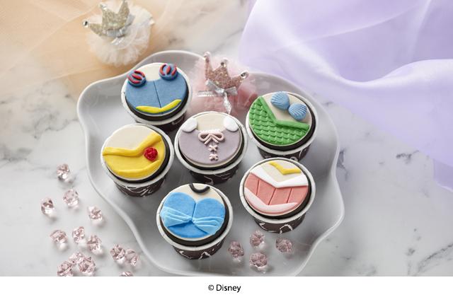swissbake baby full month cupcake disney princesses