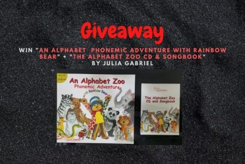 Alphabet Zoo Julia Gabriel giveaway