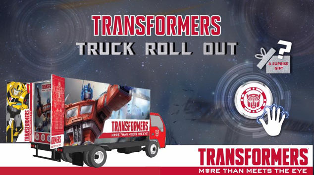 TRANSFORMERS trucks roll out