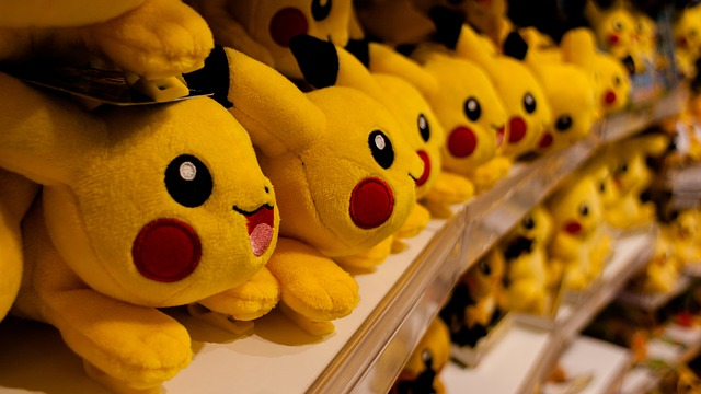 pikachu pokemon go game