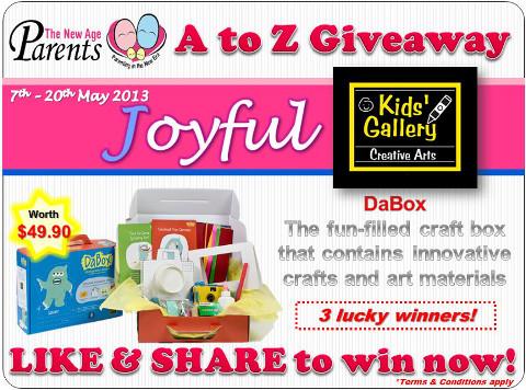 TNAP A-Z Contest Joyful Kids' Gallery