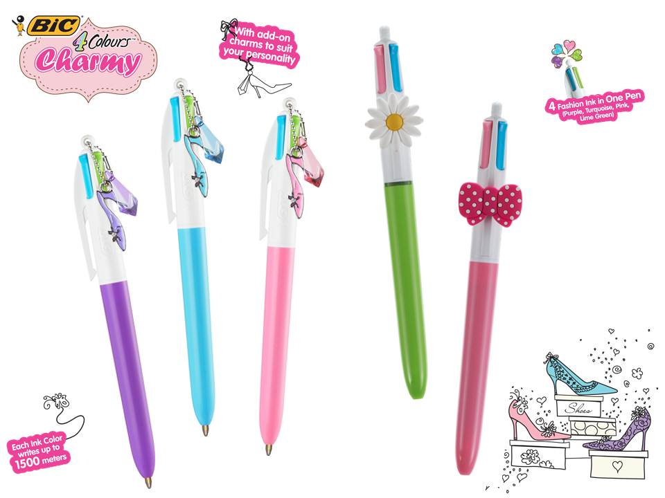 BIC 4 Colours Charmy