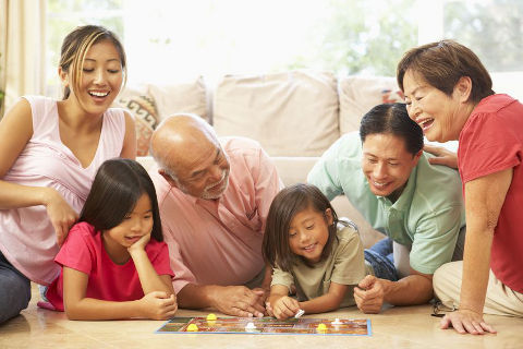 Bonding activities for the whole family