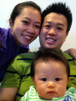 Gabriel Chen and his family