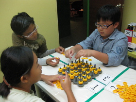 Learning skills through games at ThinkersBox