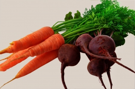 carrots and beets