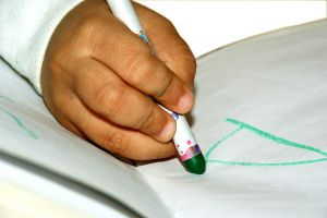 children handwriting