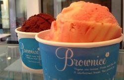 Brownice ice cream