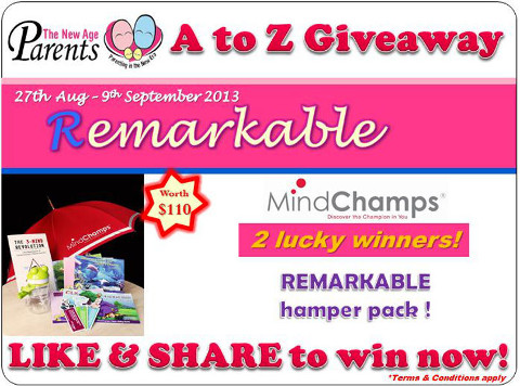 TNAP A-Z Contest Remarkable MindChamps