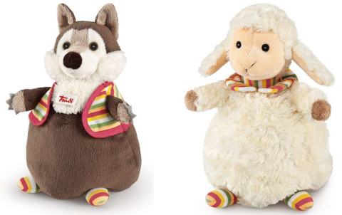 Trudi Puppet wolf and lamb