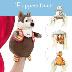 Trudi Reversible puppets