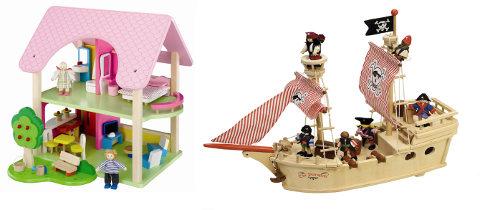 Wooden Toy Blocks by Tildo