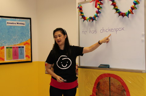 Teacher Elaine Da Little School Singapore