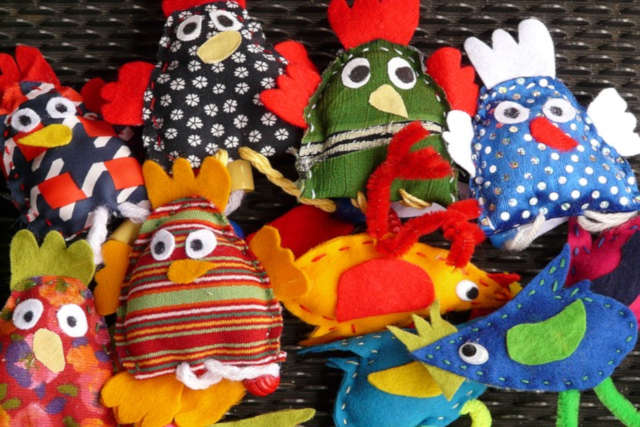 ways to revamp old clothes finger puppets