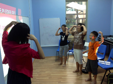 public speaking workshop for children