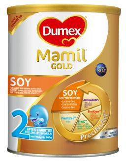 New Dumex Mamil Gold Soy PreciNutriGold