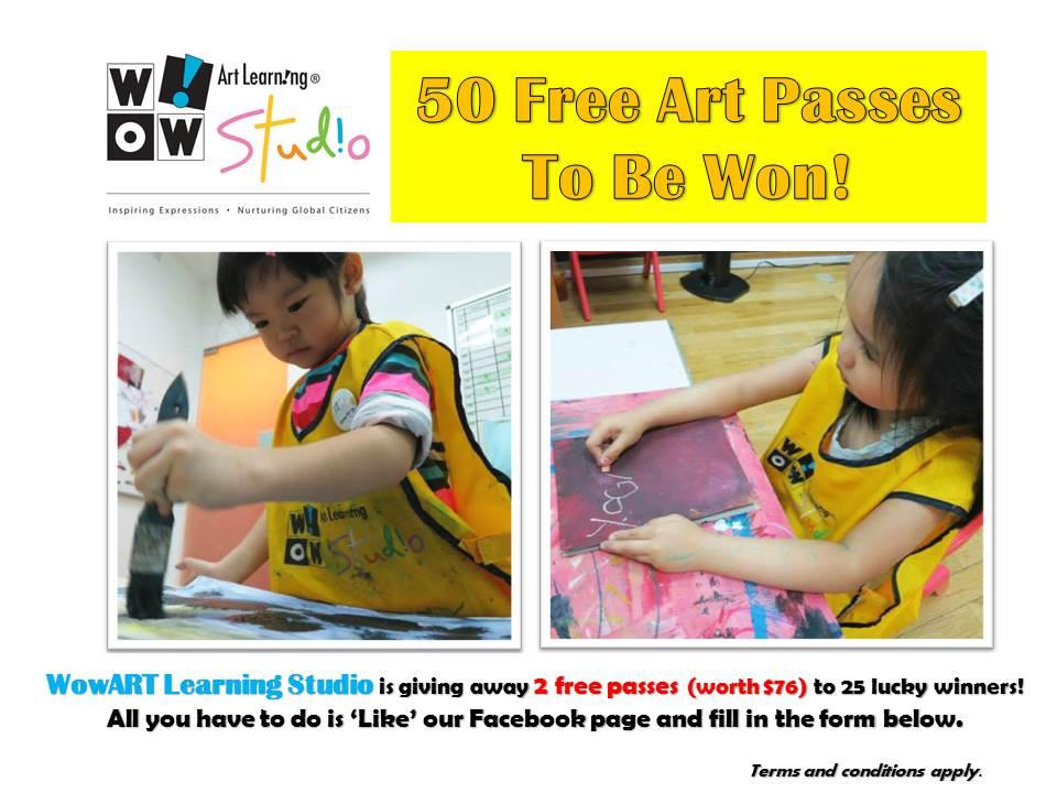 WowART Free pass giveaway