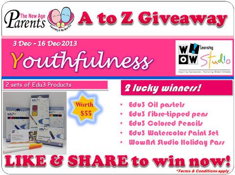 A-Z Giveaway WowArt Studio