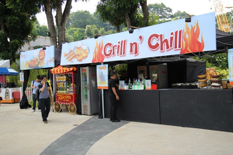 Grill n Chill at Sentosa