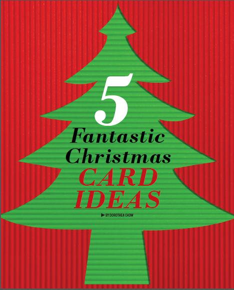 christmas card ideas diy