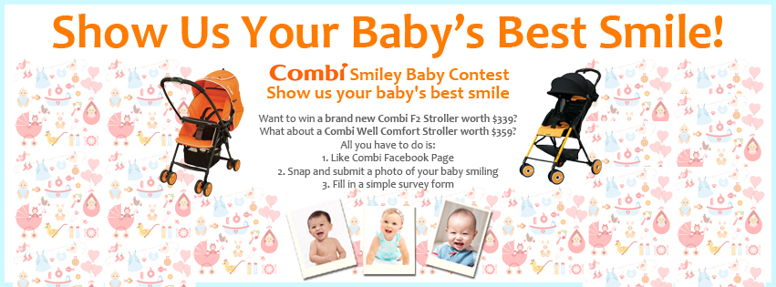 Combi Smiley baby contest