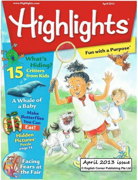 Highlights Children Magazine from English Corner