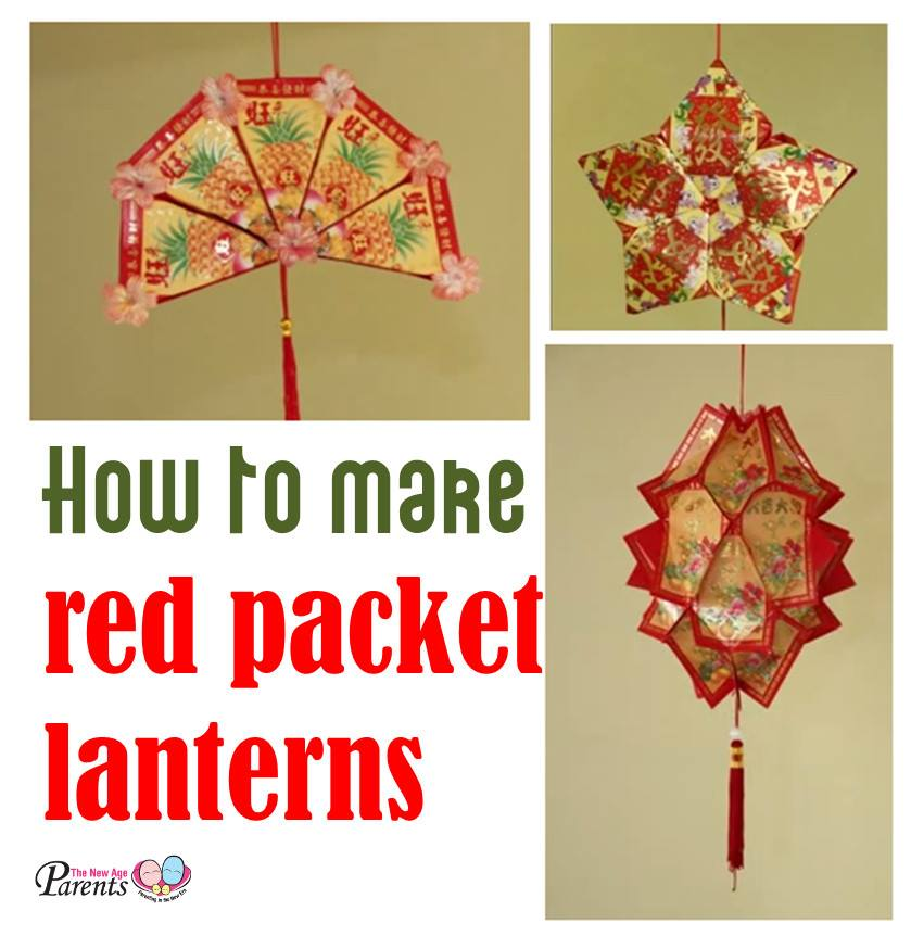 How To Make Red Packet Lanterns