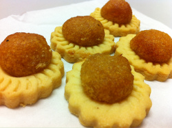 chinese new year goodies - pineapple tarts