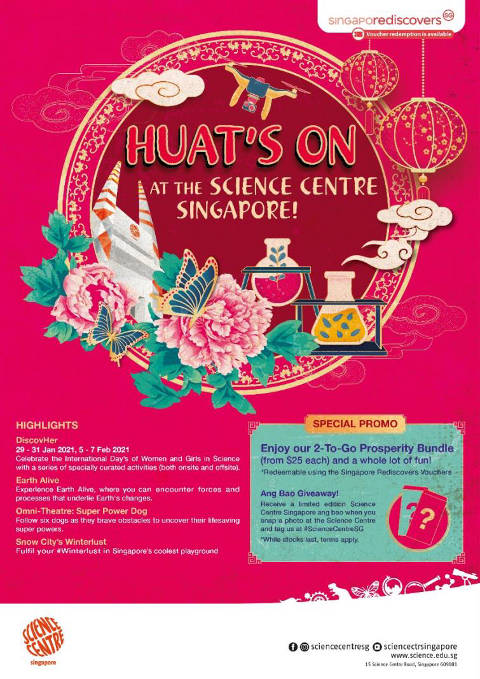lunar new year at science centre singapore