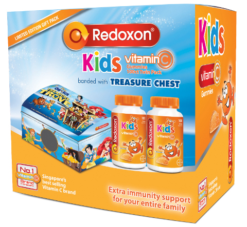 redoxon new vitamin C gummy pack
