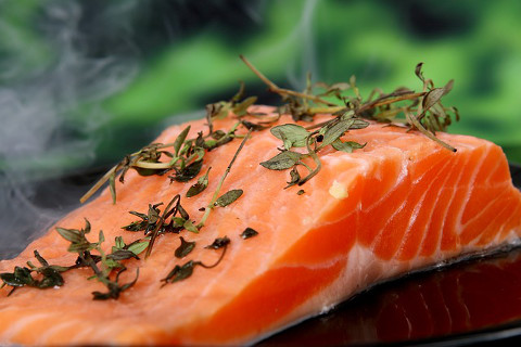 salmon good for brain
