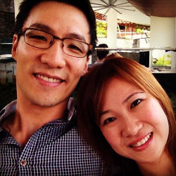 Dr Kenneth Chua and wife