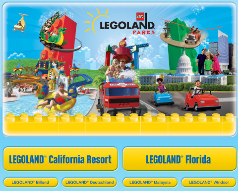 Legoland Parks around the world