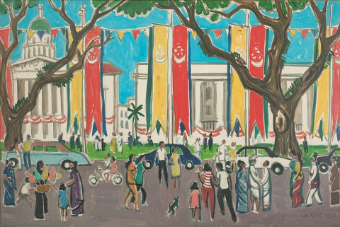 A Changed World Singapore Art 1950s – 1970s