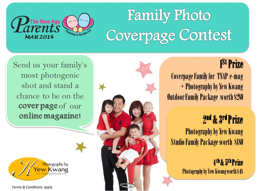 Family Coverpage Contest Mar 14