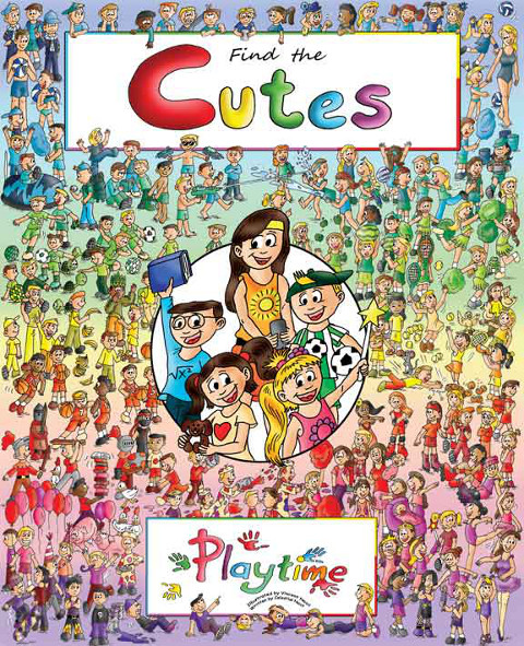 Find the cutes activity book for kids