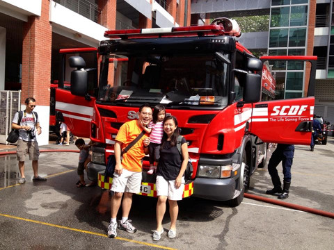 Fire Station Open House in Singapore