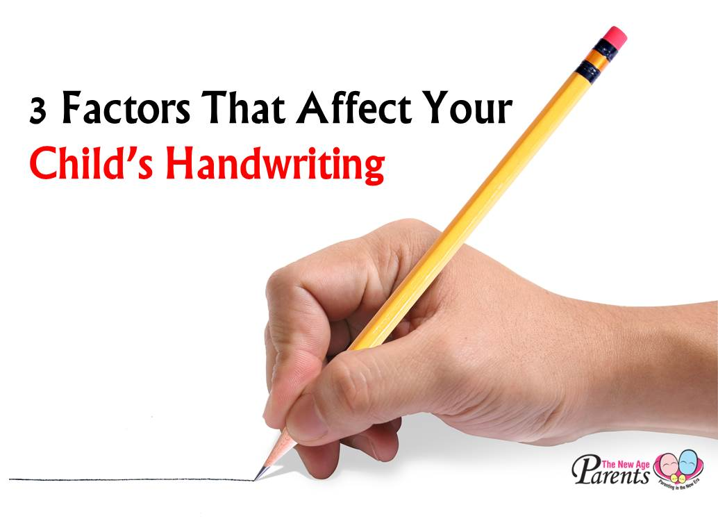factors affecting childs handwriting