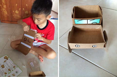 iNbox activity - building a safari jeep