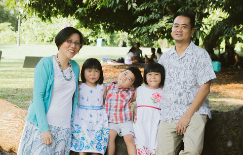 juggling work and family - Pang Liyee