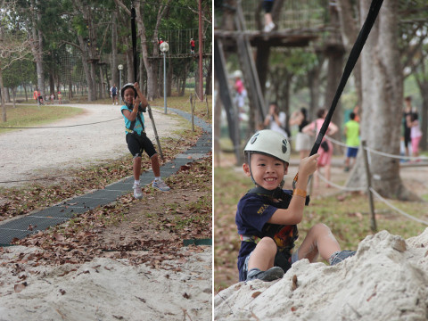 Fun at Forest Adventure