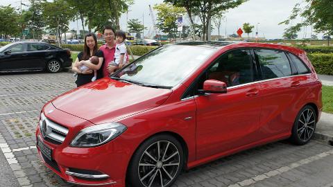 Mercedes-Benz B-Class Weekend Experience Winner Jasman Ng