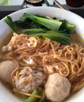 Mixed Pork Ball Noodle
