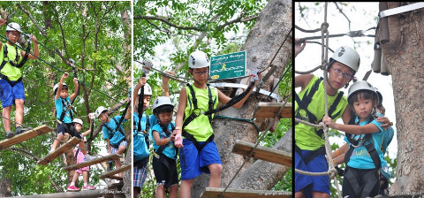 Sengkang babies at forest adventure