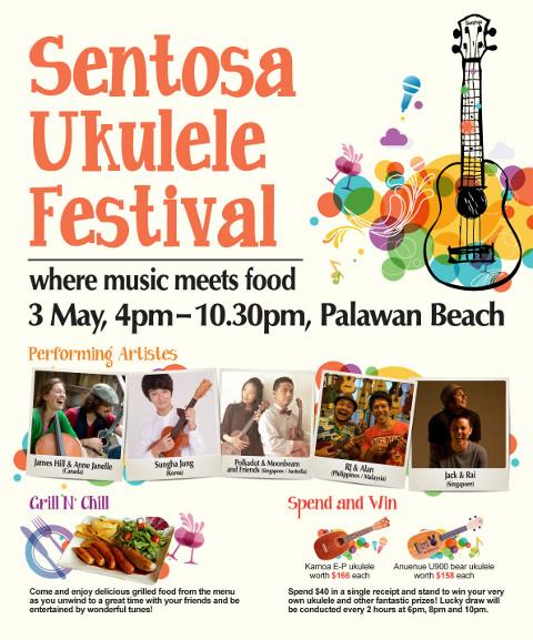 Sentosa Ukulele Festival 3 May