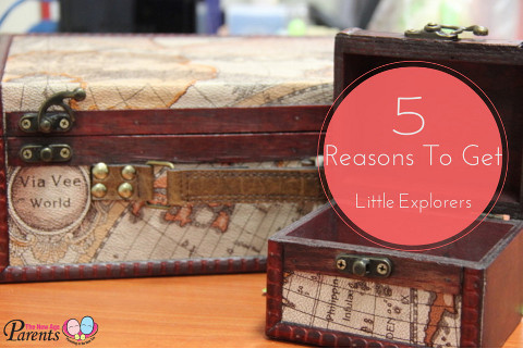 5 reasons to get Little Explorers