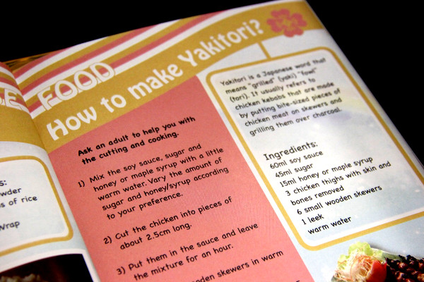 Little Explorers Activity Book - How to make Yakitori